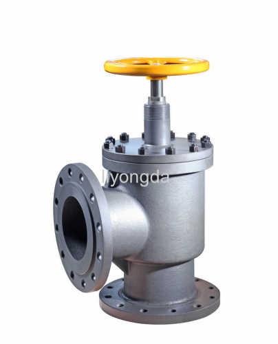 Flange angle ductile iron globe valve