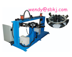 cnc angle punching machine for air duct;ventilation duct
