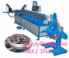 round flange forming machine for air duct