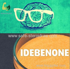 99% Pure Idebenone Powder Idbn Nootropic CAS 58186-27-9