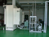 Vacuum laminating pressing machine unit