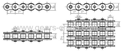 Chaine de manutention pour convoyage / tube convoyeur chaine/ convoyeur a chaine/ chaine