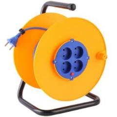 Factory wholesale european type electric extension cable reel