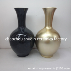 arificial flower vase dolomite material flower vase light weight flower vase