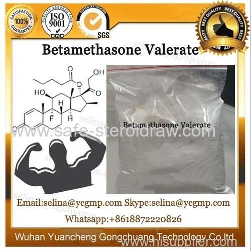 Glucocorticoid Hormones Betamethasone Valerate for Anti-Inflammatory CAS 2152-44-5