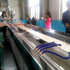 twin screw extruder design PVC wall panel and ceiling extrusion machine