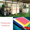 1200-2200nm packaging PP hollow corrugated sheet making machine