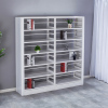 Metal Used Library Shelving Storage Bookshelves