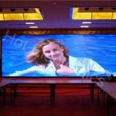 High Quality small pixel pitch full color led display