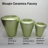 green indoor vase ceramic artificial flower vase for home decor