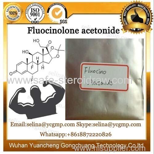 Corticosteroid Hormone Powder CAS 67-73-2 Fluocinolone Acetonide