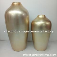 home decoration ceramic vase atificial flower vases dried flower vase