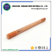 Strong corrosion resistance copper coated steel grounding rod