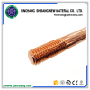 Copper earth rod for building grounding electrode system