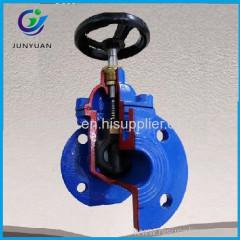 150lb soft seat dn100 din3352 gate valve