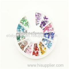Water Drop Crystal 3D Nail Art Glitter Rhinestone Nails Wheel Teardrop Rhinestone Decoration Manicure For Beauty (D15)