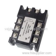 3 Phase Solid State Relay Module 100A AC To AC Output 30-480V High Voltage Solid State Relay