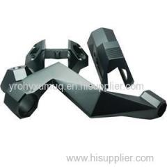 5 Axis Cnc Machining Aluminum Camera Stabilizer Parts Gimbal Parts Mounting Parts From China