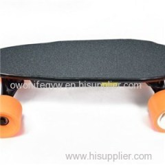 Mini Portable 4wheels Dual Motor Electric Skateboard For Sale