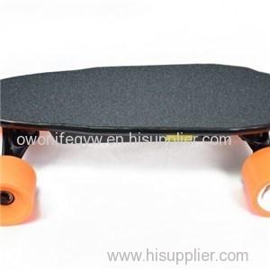 Mini Portable 4wheels Dual Motor Electric Skateboard For Sale