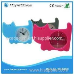 Unbreak Small Silicone Pet Table Clock