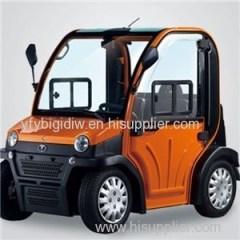 GY-EC01 High Speed Powerful Smart Electric Mini Cars /Four Wheelers With Best Price