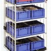 Suitable For Warehouse Storage Use Material Handling Storage Table Trolley