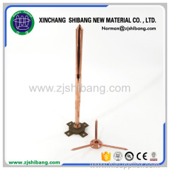 Copper surge arresters for electronic equipment