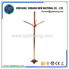 Copper lightning arrester for lightning prevention system