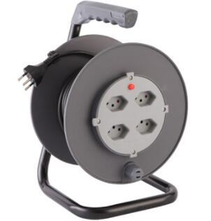 Cable reels Swiss cable reels 4-Outlet with cable H05VV-F 3G1.5mm2