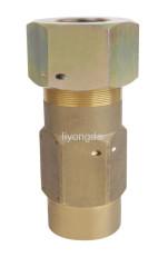 Brass pressure relief valve control valve