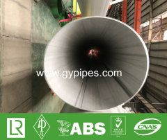 TP304 Welded TIG Stainless Steel Pipe
