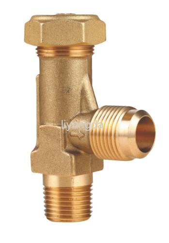 Angle valve brass valve safety valve compressor valve