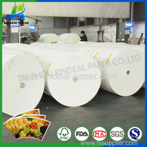Clay and pe coated paper for cups