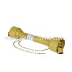 PTO drive shaft triangular tube yoke PTO shaft driveline