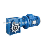 BKM Series High Eficiency Hypoid Gear box / Hypoid Motor from Factory Directly
