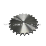 Plate wheel for roller chain/metal sprockets