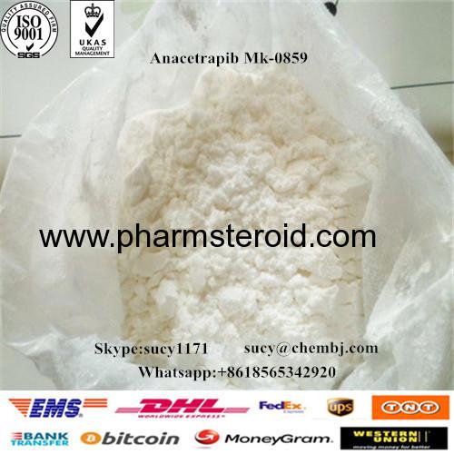 Anacetrapib Mk-0859 CAS:875446-37-0 Increase HDL-cholesterol