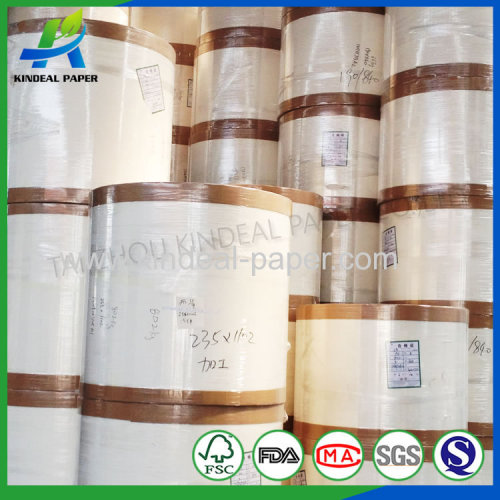 NB PAPER pe coated paper for bowl