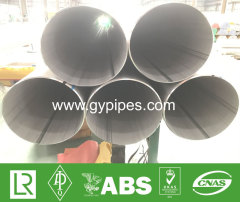 TP347H Large Diameter Welded Stainless Steel Pipe
