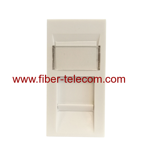Network Faceplate Modular Plug