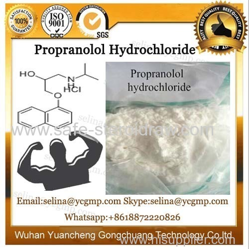 Top Quality Health Care Parma Raw Material Propranolol Hydrochloride