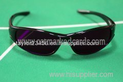 Blue lens one to one sunglasses for marked cards