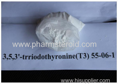 Weigth Loss Raws L-Triiodothyronine / T3 Na Powder for weight loss