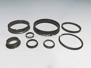 Silicon Carbide mechanical seal rings and bearings