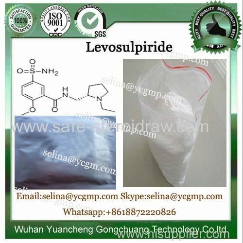 Levosulpiride Anti Depressant API Raw Material Levosulpiride