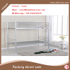China wholesale metal frame bunk bed with EN747 certificate for adult bedroom furniture
