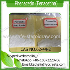 Phenacetin / Fenacetina Steroids for Pain-Relieving Reducing Fever CAS: 62-44-2