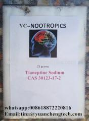 Best Quality Nootropics Tianeptine Sodium CAS 30123-17-2