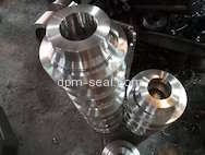 Forged material for mechanical seal gland